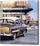 Prospect Diner Canvas Print