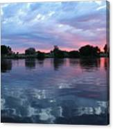 Prosser Pink Sunset 5 Canvas Print