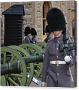 Protecting The Tower Of London Canvas Print
