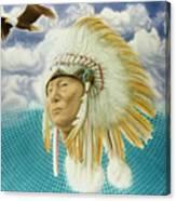 Proud As An Eagle Canvas Print
