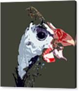 Proud Bird Canvas Print