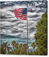 Proudly Waving Canvas Print