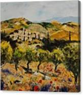 Provence 10080 Canvas Print