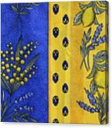 Provence Colors Canvas Print