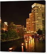 Providence Waterfire Canvas Print