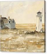 Provincetown Light Canvas Print