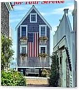 Provincetown Patriot By Sharon Eng Canvas Print