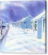 Provincetown Winter Canvas Print