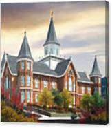 Provo City Center Temple Canvas Print