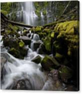 Proxy Falls Oregon 5 Canvas Print