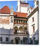Pruhonice Castle Architecture Canvas Print