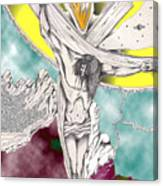 Psalm 22 Ch 13-15... Canvas Print