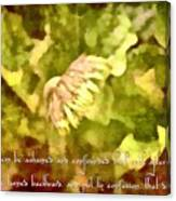 Psalm 70 2 Canvas Print