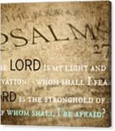 Psalms102 Canvas Print