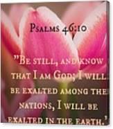 Psalms104 Canvas Print
