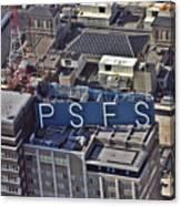 Psfs Building Canvas Print
