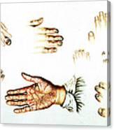 Psoriasis, Syphilis, Onychomycosis Canvas Print