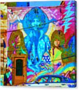 Psychdelic Rockers Canvas Print