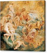 Psyche Taken Up Into Olympus Canvas Print