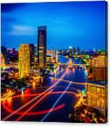 Psychedelic Bangkok Thailand Canvas Print