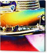Psychedelic Chevy Bumper Canvas Print