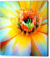 Psychedelic Cirrus Bloom Canvas Print