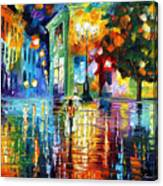 Psychedelic City Canvas Print
