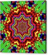 Psychedelic Construct Canvas Print