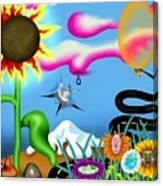 Psychedelic Dreamscape I Canvas Print