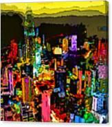 Psychedelic  Dubai Art Canvas Print