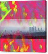 psychedelic energy of Los Angeles Canvas Print