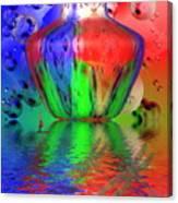 Psychedelic Flight Canvas Print