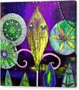 Psychedelic Garden 2 Canvas Print