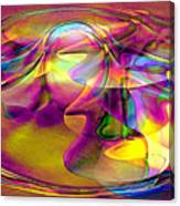 Psychedelic Sun Canvas Print
