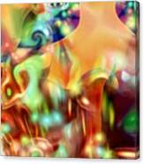 Psychedelic Xperiment Canvas Print