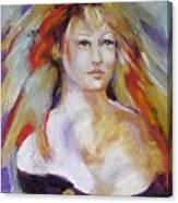 Psychic Deva Canvas Print