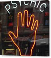 Psychic Readings Canvas Print