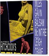 Psycho, Anthony Perkins, Janet Leigh Canvas Print
