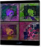 Psycho Four Canvas Print