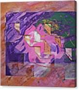 Psycho Pattern Canvas Print