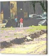 Psychodelic Wasteland Canvas Print
