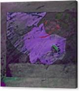 Psycho Warhol Deep Purple Canvas Print