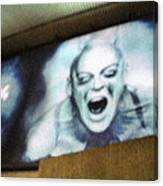 Psychosis - Bad Sign Canvas Print