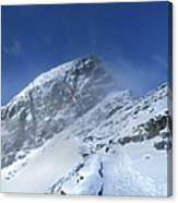 Ptarmigan Pass Tunnel South - Glacier National Park Canvas Print