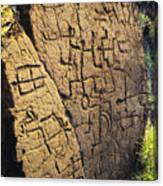 Puako Petroglyphs Canvas Print