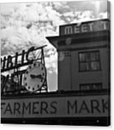 Public Market #2 Canvas Print