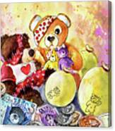 Pudsey And Truffle Mcfurry For Children In Need Canvas Print
