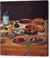 Puebla Kitchen Canvas Print