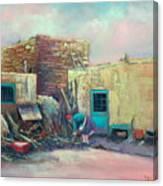 Pueblo Baker Canvas Print