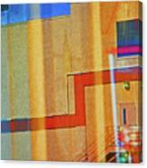 Pueblo Downtown Reflection 2 Canvas Print